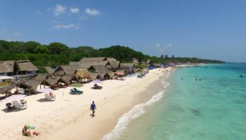 Unforgettable Colombian beach paradise