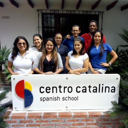 Foto del equipo de Centro Catalina Spanish School, sede Cartagena de Indias