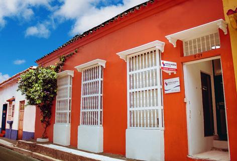 Fachada Centro Catalina Spanish School Cartagena de Indias